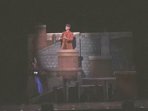 Picture of roof top from Mary Poppins musical
